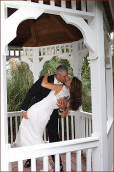 Historic Small Chapel Wedding Gazebo in Wendell NC